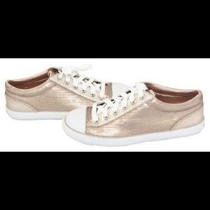 Coach Gema Sequins Rose Gold Sneaker